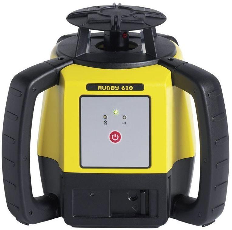 Niwelator laserowy Leica RUGBY 610 RE Basic, Alkaline