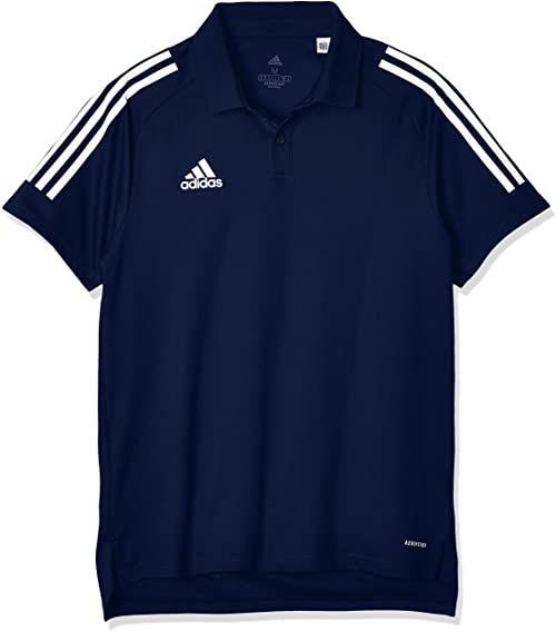 Koszulka polo adidas Condivo 20 - Navblu/White, mała