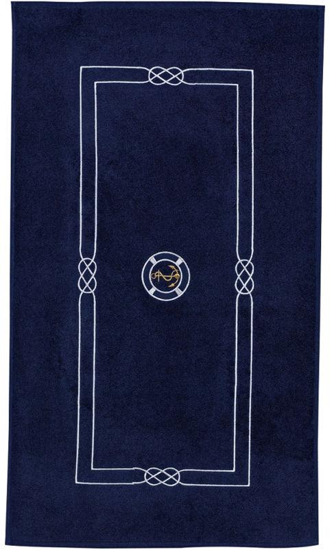 Dywanik łazienkowy MARINE MAN 50x90 cm Ciemnoniebieski