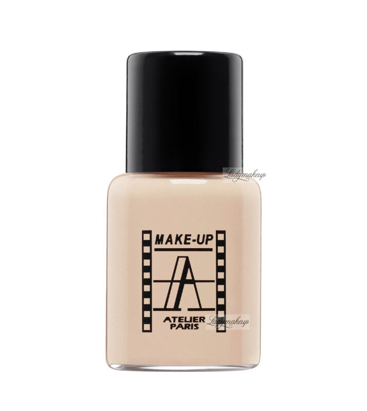 Make-Up Atelier Paris - Waterproof Liquid Foundation - Fluid / Podkład WODOODPORNY - 5ml - 5FLW3Y - NUDE