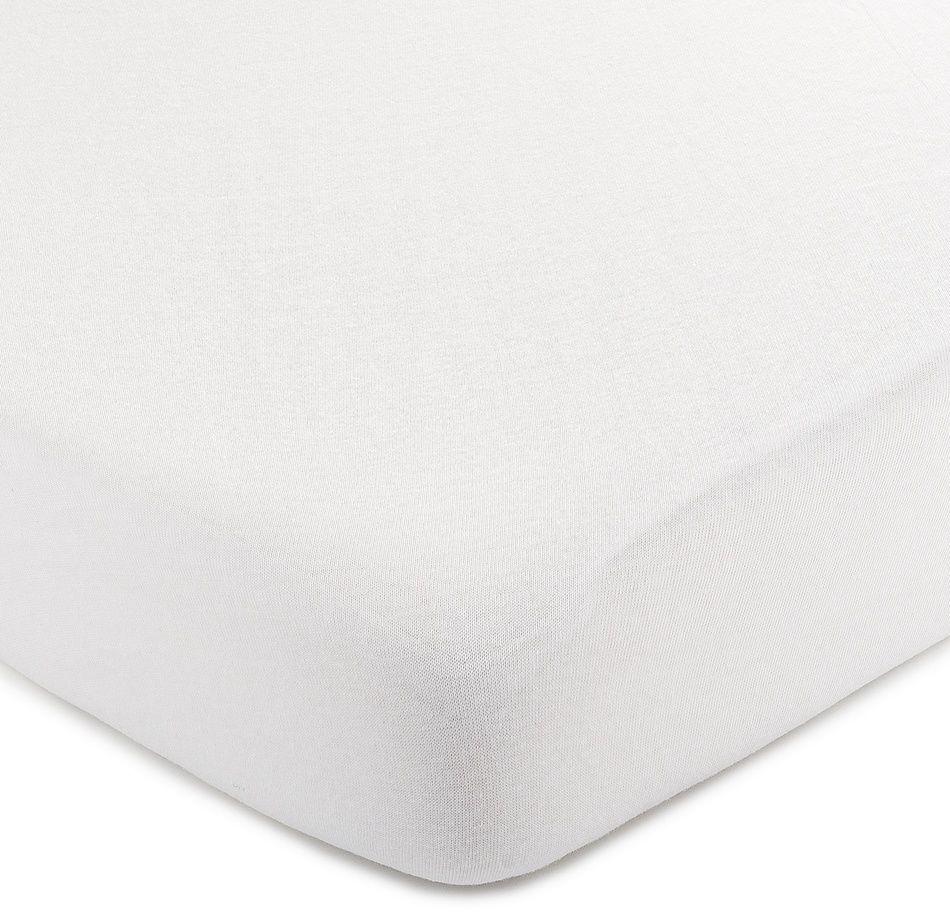 4Home Jersey prześcieradło biały, 70 x 140 cm, 70 x 140 cm
