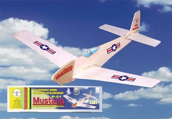 Model samolotu MUSTANG