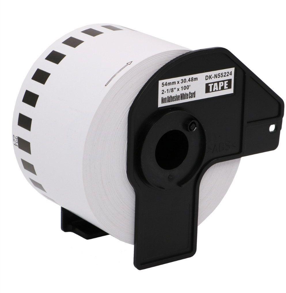 Taśma Brother DK-N55224 bez kleju 54mm x 30.48m do drukarki etykiet QL - zamiennik OSZCZĘDZAJ DO 80% - ZADZWOŃ! 730811399