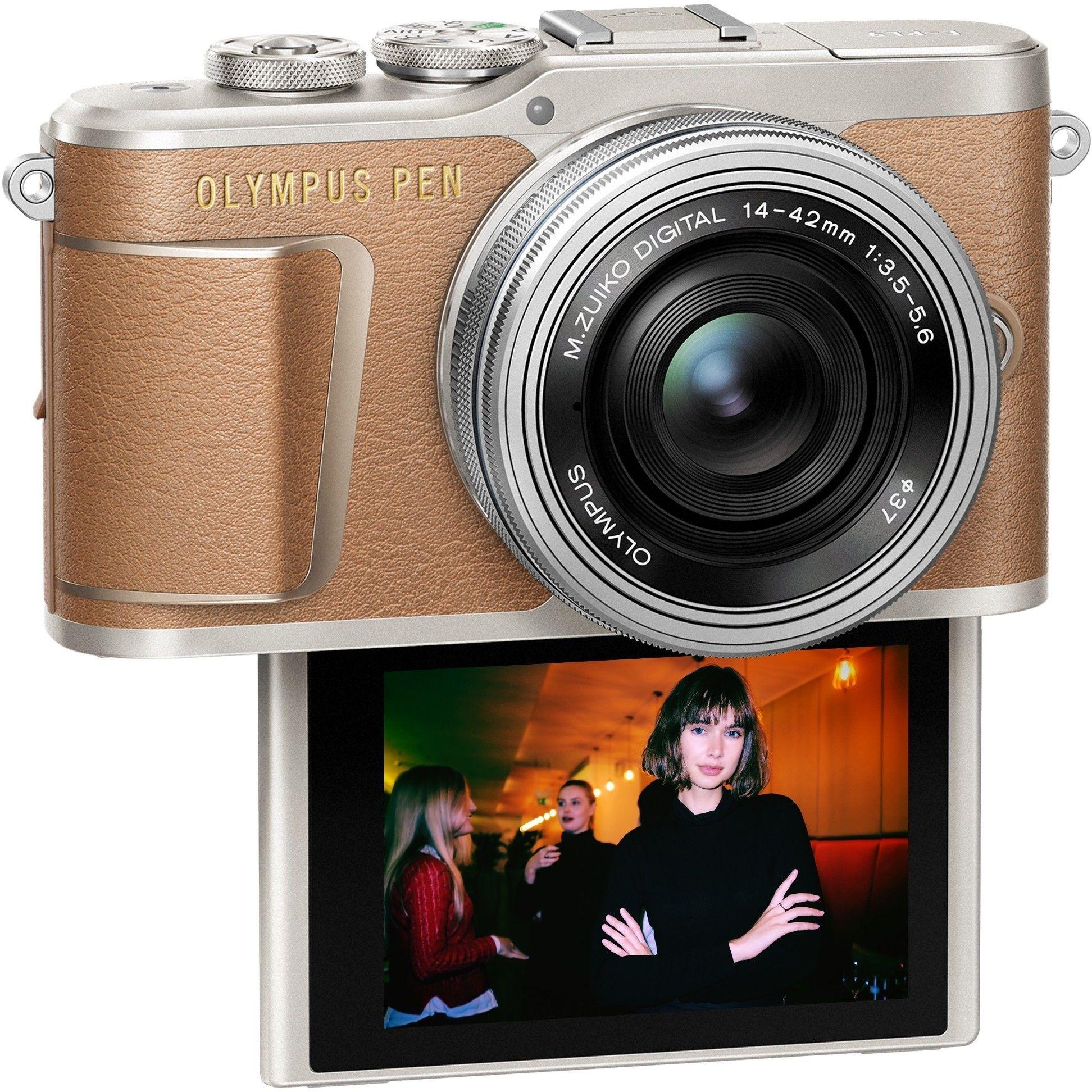 Olympus E-PL9 Kit 14-42mm brązowy