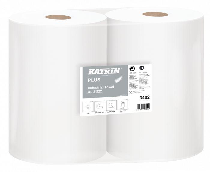 Katrin Plus czyściwo celuloza 2-warstwowe 189 metrów