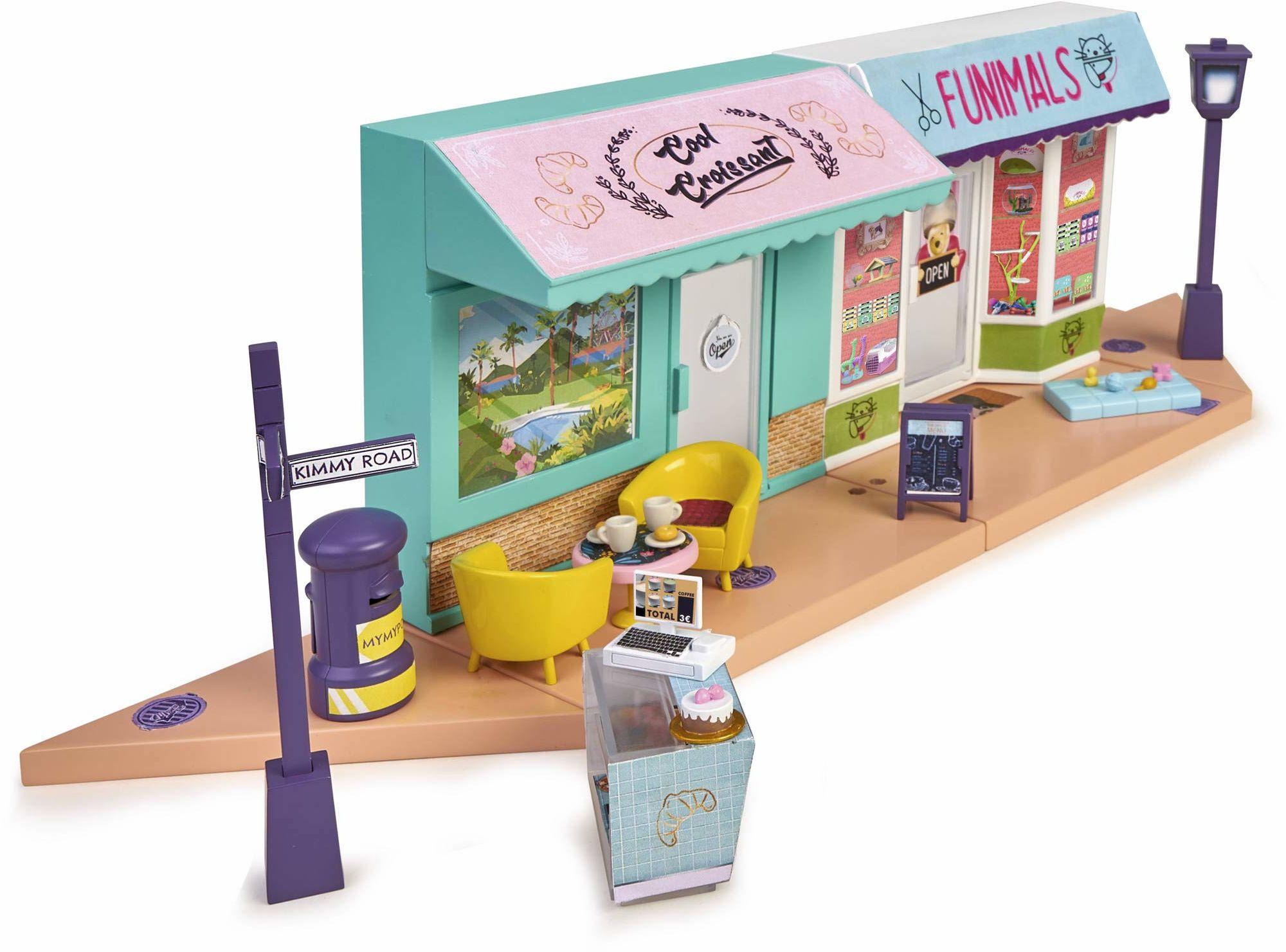 Funny Shopping - Mymy City - zestaw namiotów zabawkowych z akcesoriami (Famosa 700015819)