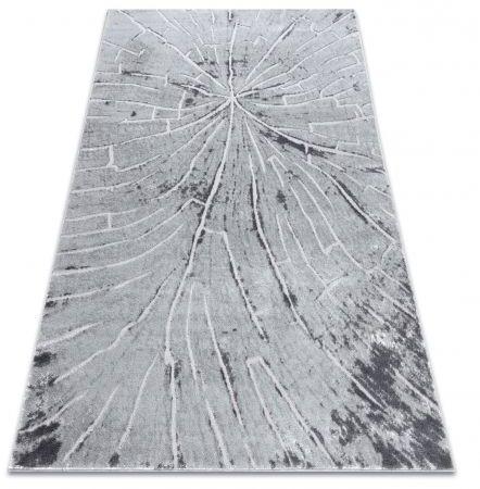 Dywan nowoczesny MEFE 2784 Pień drzewo drewno - Strukturalny, dwa poziomy runa szary 80x150 cm