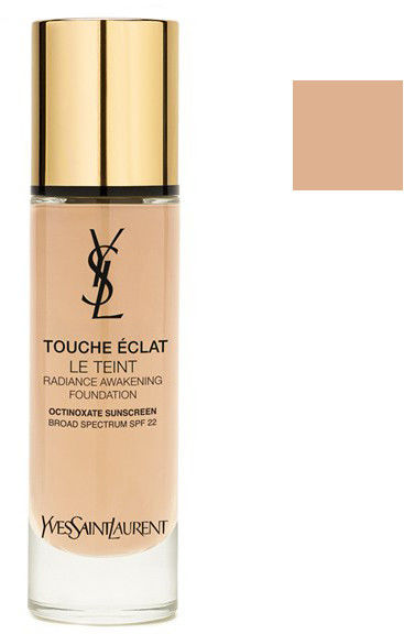 Yves Saint Laurent Touche Éclat Le Teint długotrwały makijaż rozjaśniający skórę SPF 22 odcień BR 30 Cool Almond 30 ml