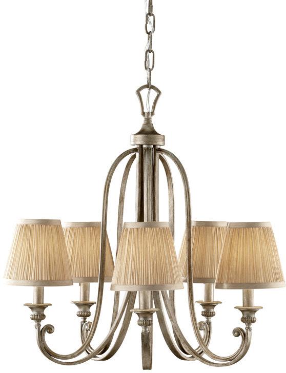 Lampa wisząca Abbey FE/ABBEY5 Feiss dekoracyjna oprawa w klasycznym stylu