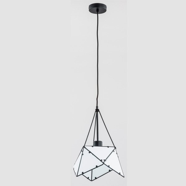 Lampa sufitowa ROMBUS BLACK 30cm - czarny 30