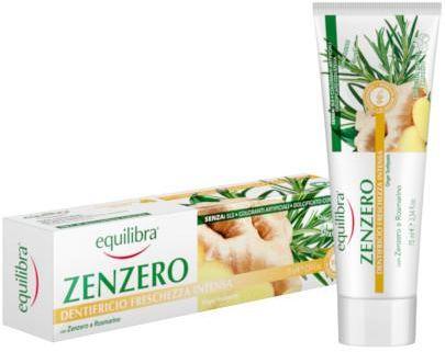 Equilibra Imbirowa pasta do zębów intensywnie odświeżająca 75 ml