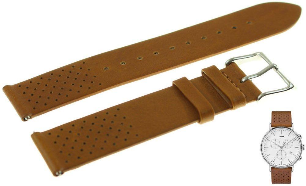 Pasek do zegarka Timex TW2R26700 PW2R26700 20 mm Skóra