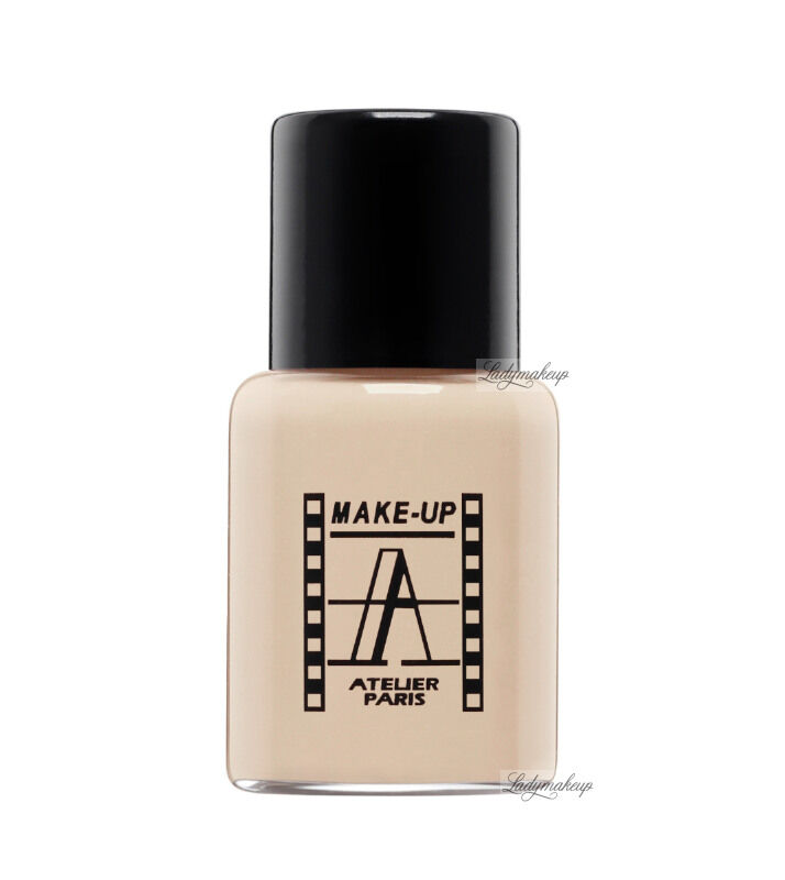 Make-Up Atelier Paris - Waterproof Liquid Foundation - Fluid / Podkład WODOODPORNY - 5ml - 5FLW3NB - ULTRA BEIGE NUDE