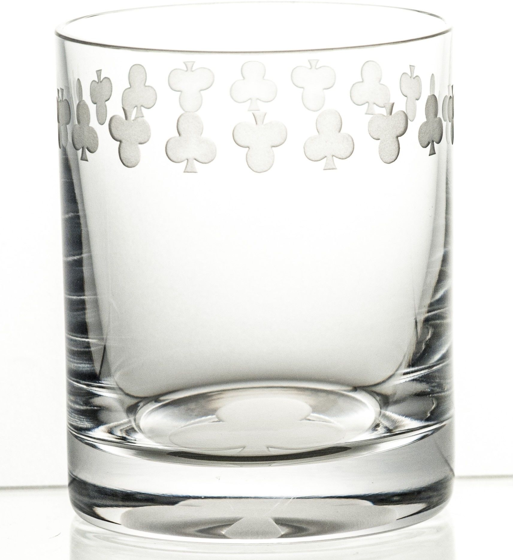Karta do gry trefl szklanka do whisky grawer (05933)