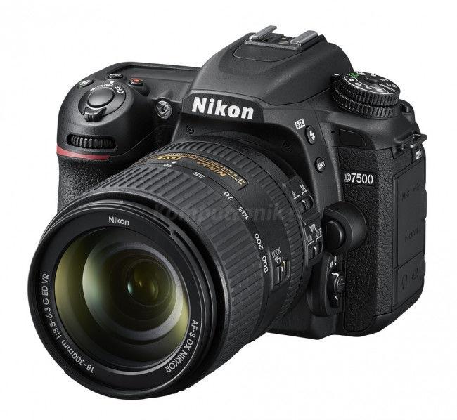 Nikon D7500+ Nikkor AF-S DX 18-300mm f/3.5-6.3G ED VR Czarny