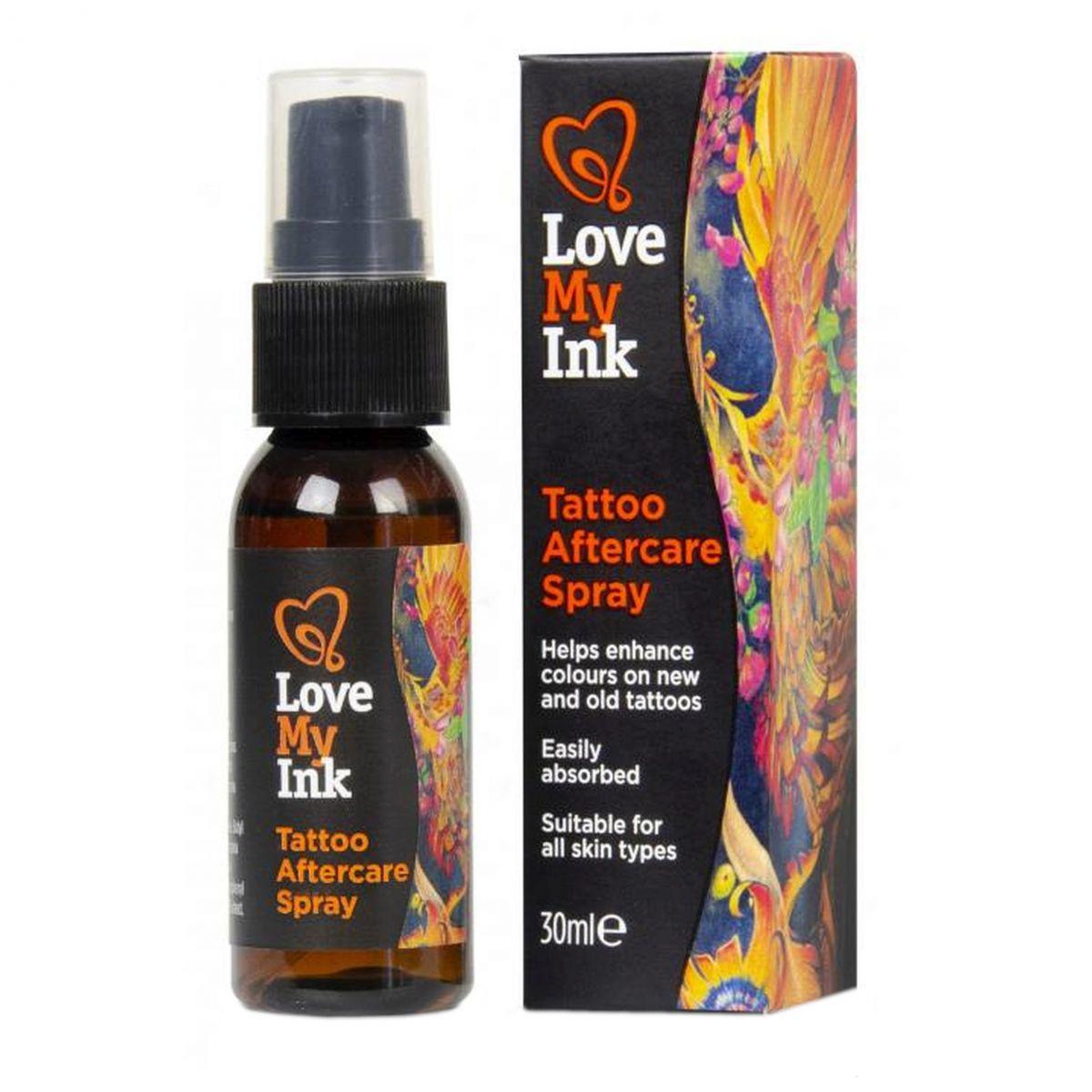 Spray do pielęgnacji tatuażu - 30ml - Love My Ink Tattoo