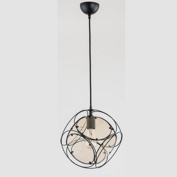 Lampa sufitowa kostka INSIDE BLACK 33cm