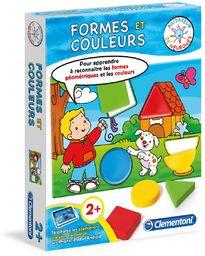 Clementoni -62388 - Petit Savant - kształty i kolory - wersja francuska