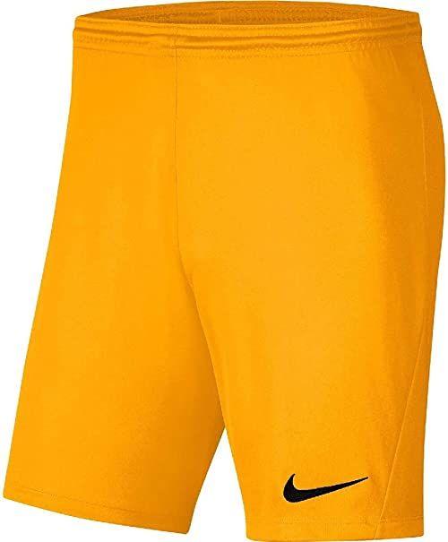 Nike Krótkie spodenki dziecięce Park Iii Short Nb żółty University Gold/(Black) 8-10 Lat