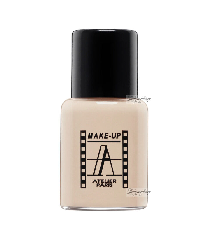 Make-Up Atelier Paris - Waterproof Liquid Foundation - Fluid / Podkład WODOODPORNY - 5ml - 5FLW2B - CLEAR BEIGE
