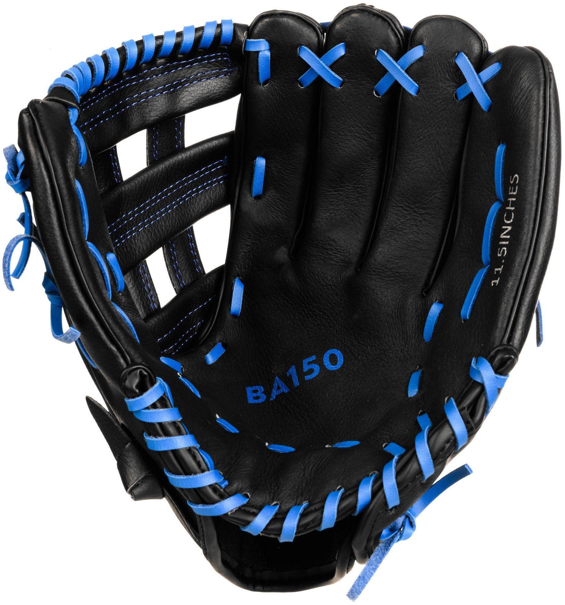 Rękawica baseballowa Kipsta BA150 dla miotacza 11,5-12,5 dla praworęcznych