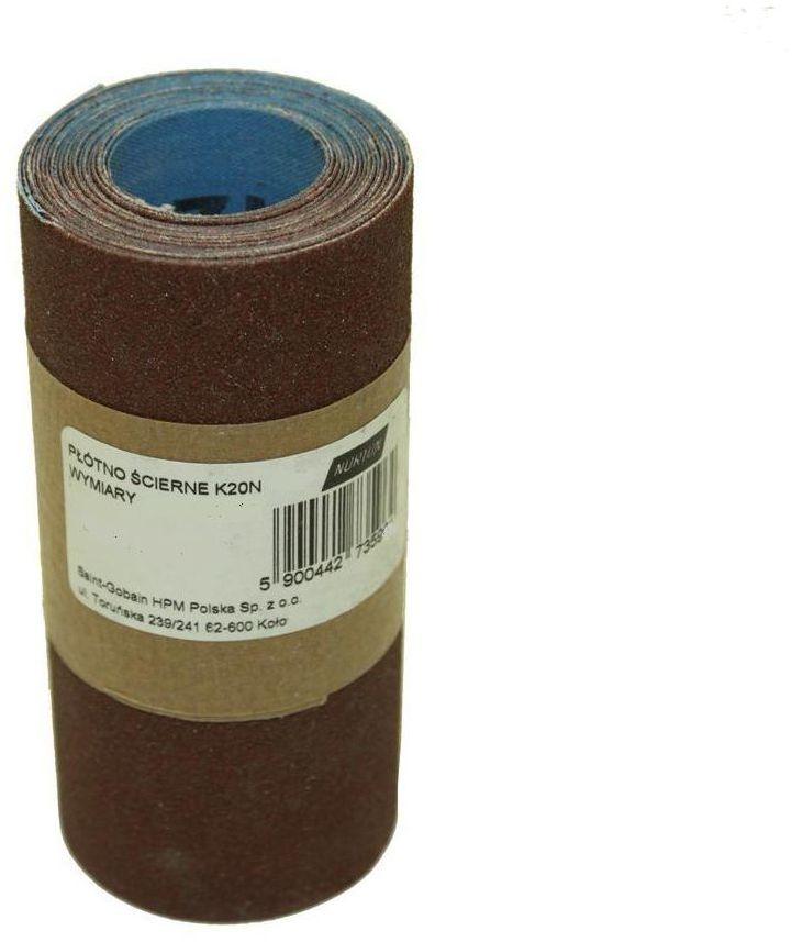Papier ścierny ROLKA PŁÓTNO P80 93 mm x 2.5 m NORTON