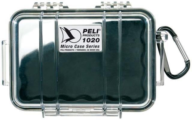 Peli 1020 czarna - wodoodporna, skrzynia transportowa