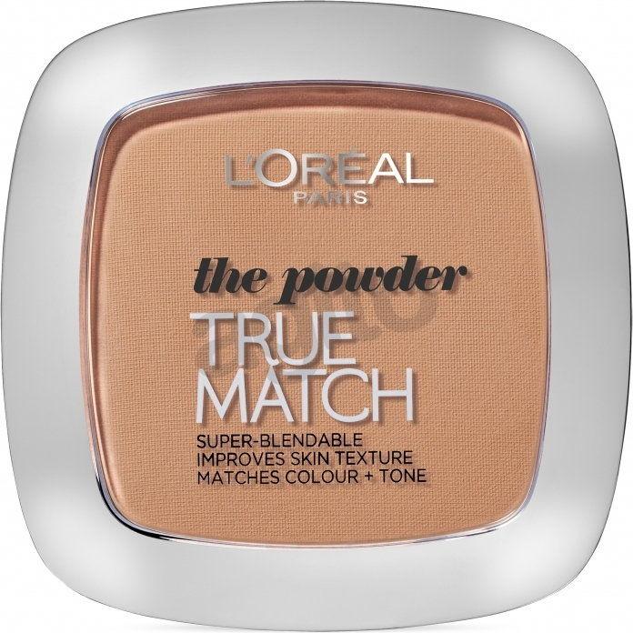 LOréal Paris True Match puder w kompakcie odcień 5D/5W Golden Sand 9 g