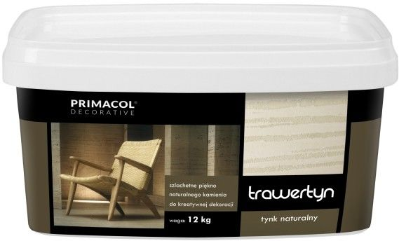 Tynk Primacol trawertyn 12 kg