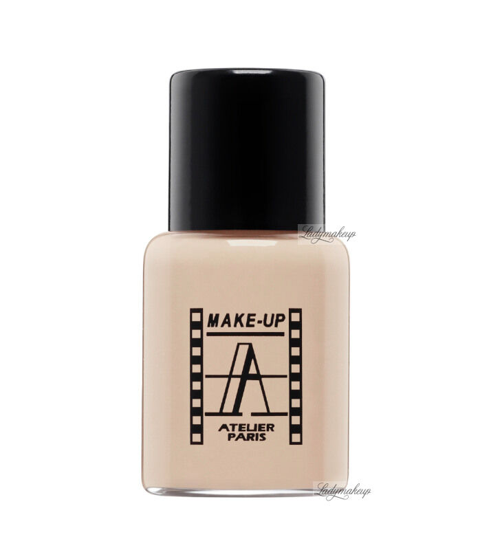 Make-Up Atelier Paris - Waterproof Liquid Foundation - Fluid / Podkład WODOODPORNY - 5ml - 5FLW3B - NATURAL BEIGE