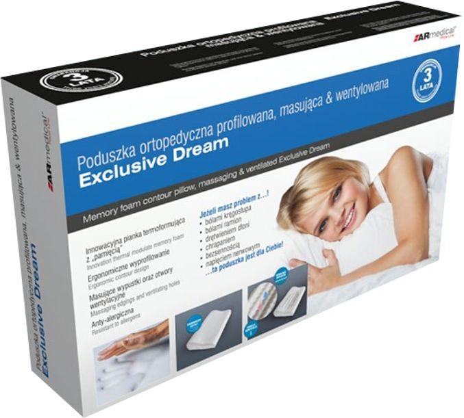 Poduszka ortopedyczna profilowana Exclusie Dream masująca i wentylowana (MFP-5030MV)