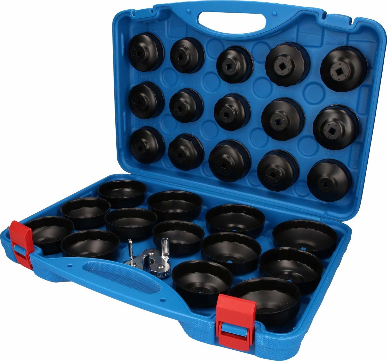 Brilliant Tools (BR75W) Zestaw kluczy do filtra oleju z nakrętką 30 sztuk, inne