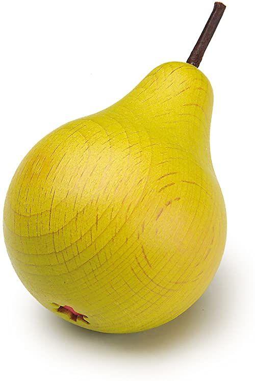 Drewniane jedzenie do zabawy - Pretend Play Sklep spożywczy - Owoce, gruszka od Erzi