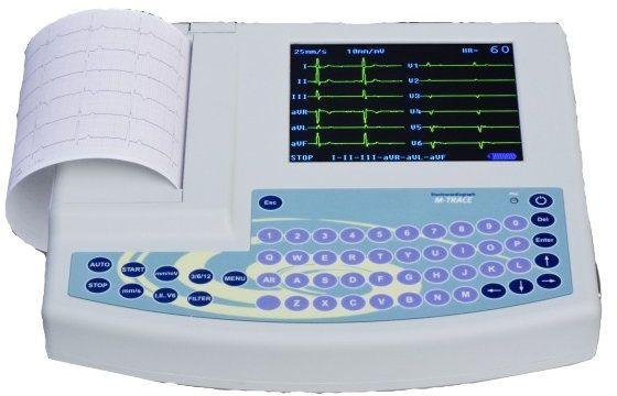 Aparat EKG M4Mdical MTrace 12 kanałowy