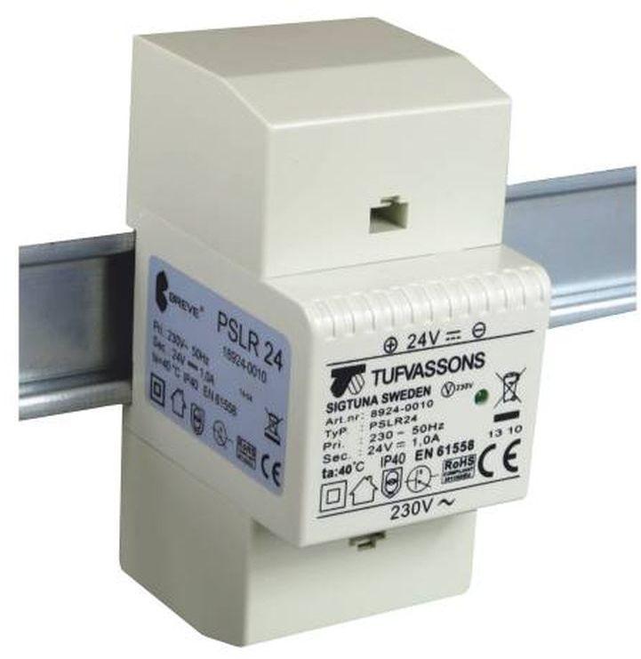 Zasilacz impulsowy PSLR 24 230VAC/12VDC 2A /na szynę TH/ 18912-0011