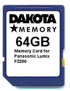 Karta pamięci 64 GB do Panasonic Lumix FZ200