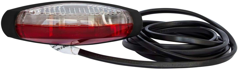 Lampa obrysowa Asp ck Flexipoint II biało-czerwona 2,25m DC