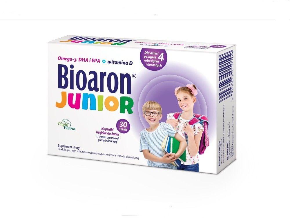 Biaron junior 30 kapsułek do żucia