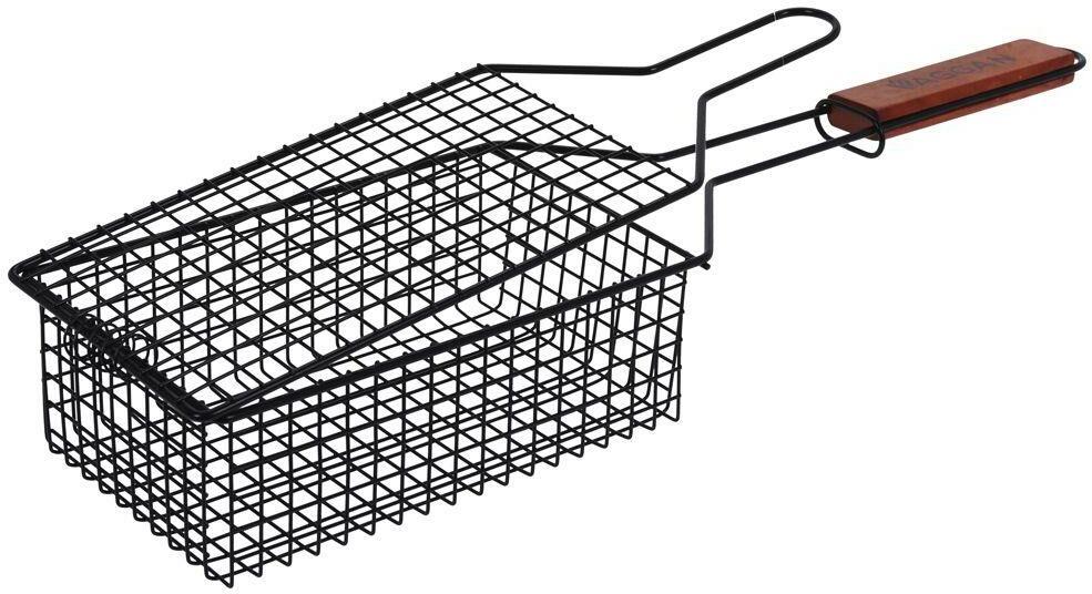 Koszyk DO GRILLOWANIA ruszt kratka siatka zamykana na grilla