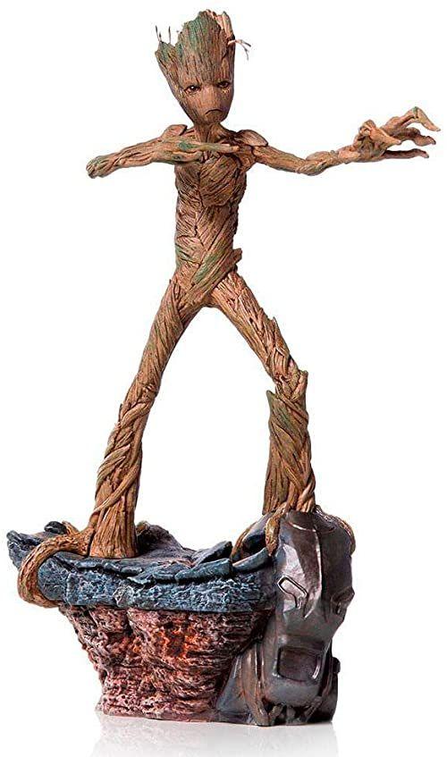 Iron Studios Groot Avengers: Endgame Battle, seria Diorama, statuetka sztuki 1/10