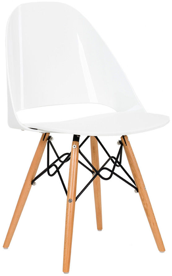 Krzesło TDF Fiamo white-white