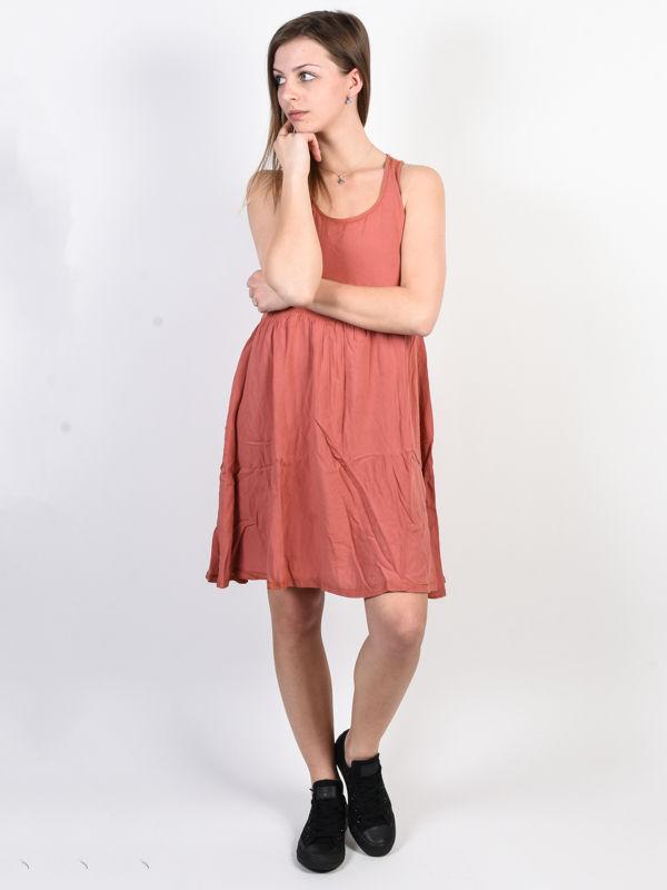 Animal LACEE Brick Dust Pink krótkie sukienki