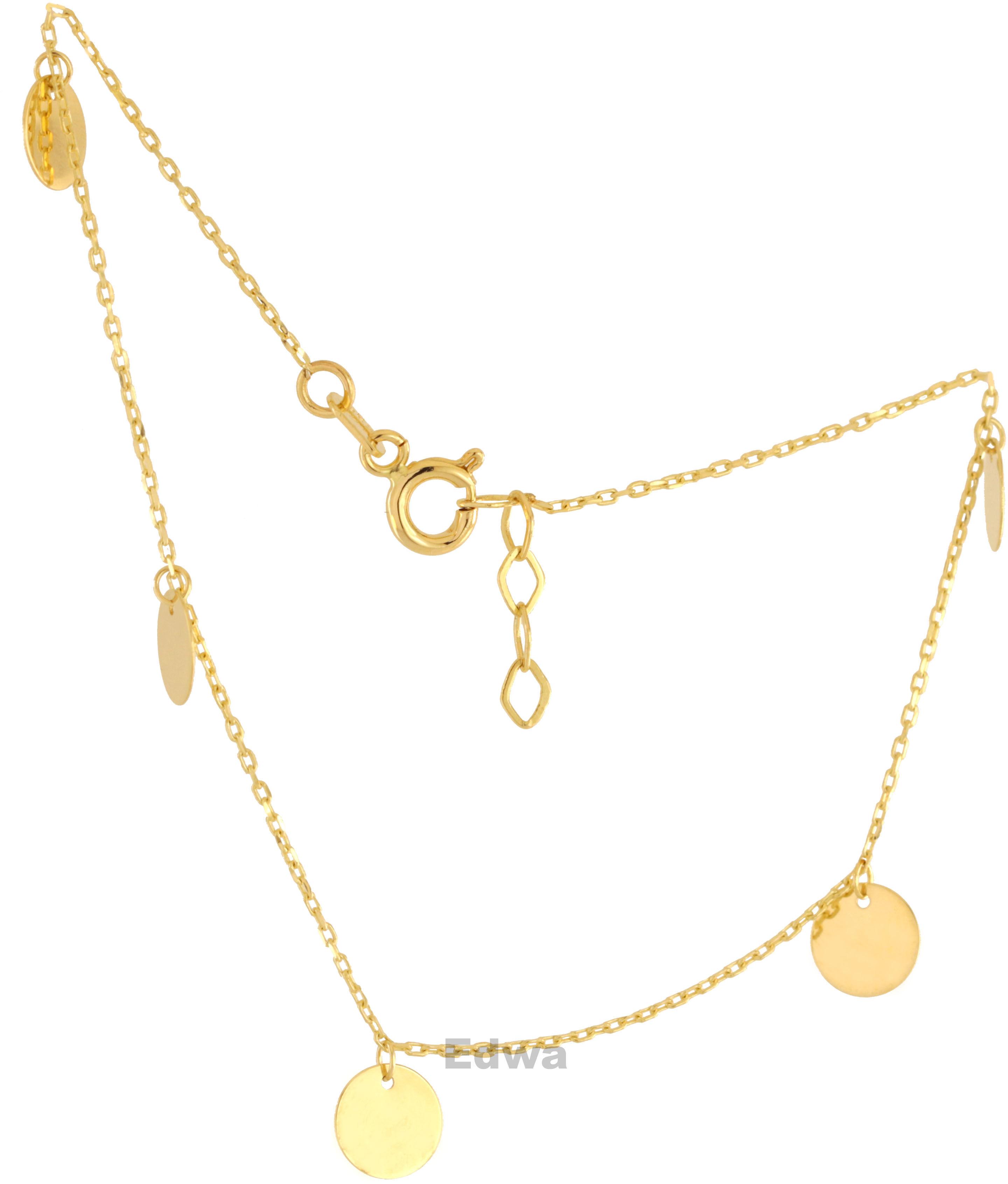 Bransoletka złota celebrytka pr.585