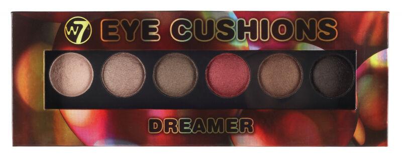 W7 - Eye Cushion - DREAMER - Paleta 6 cieni do powiek