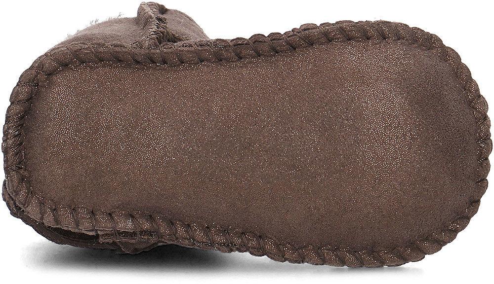 Emu Australia Baby Bootie Metallic - Kozaki Dziecięce - B11428 CHOCOLATE