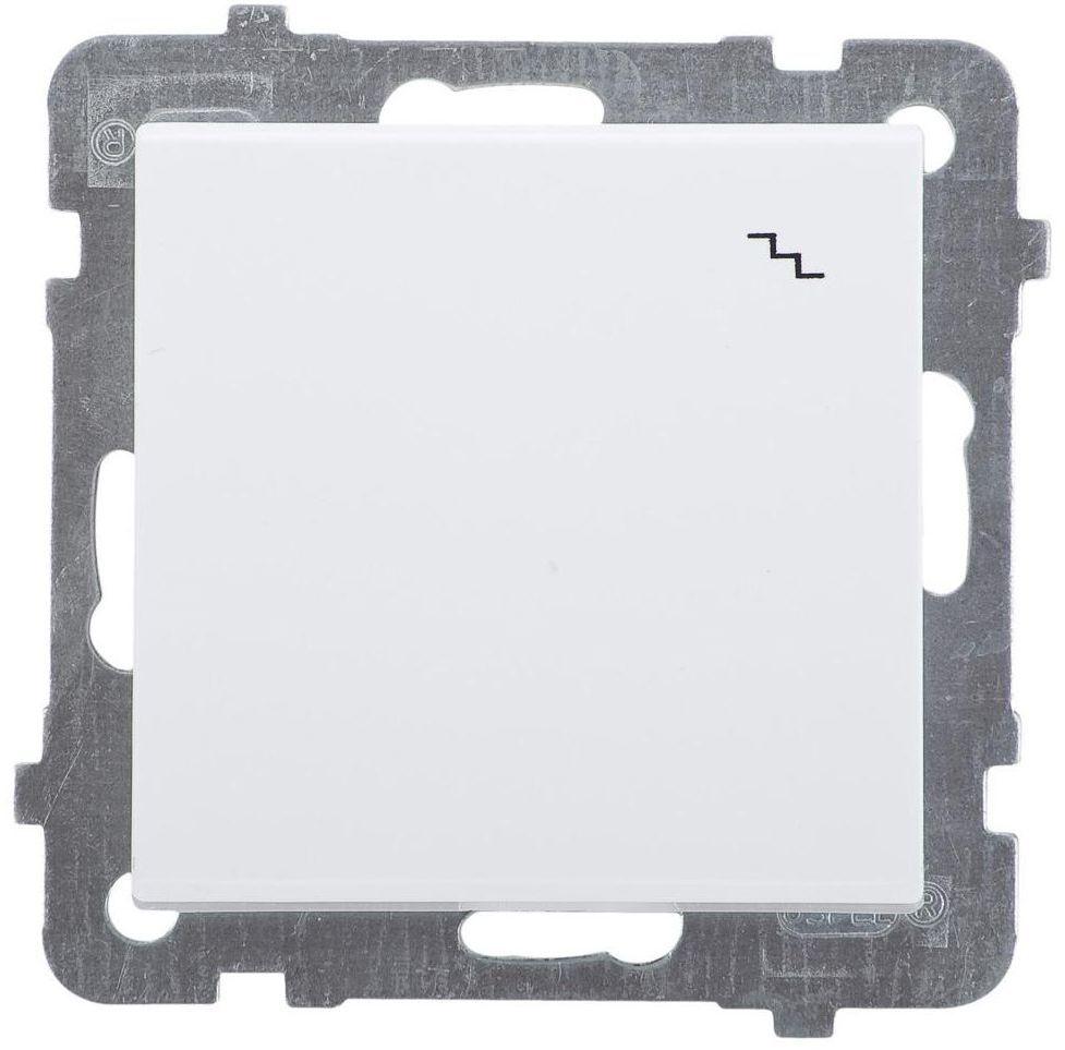 Włącznik schodowy SONATA Biały OSPEL