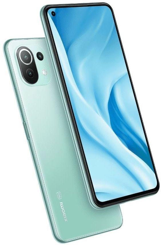 XIAOMI Smartfon Mi 11 Lite 8/128 GB 5G Mint Green