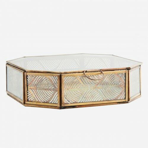 Szklane szkatułka-duża Madam Stoltz