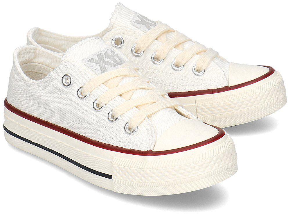 Xti - Trampki Dziecięce - 57068 WHITE - Biały