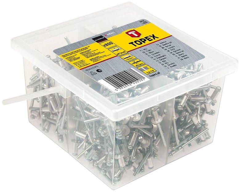 Nity aluminiowe 4,8x23mm 43E507 /50szt/
